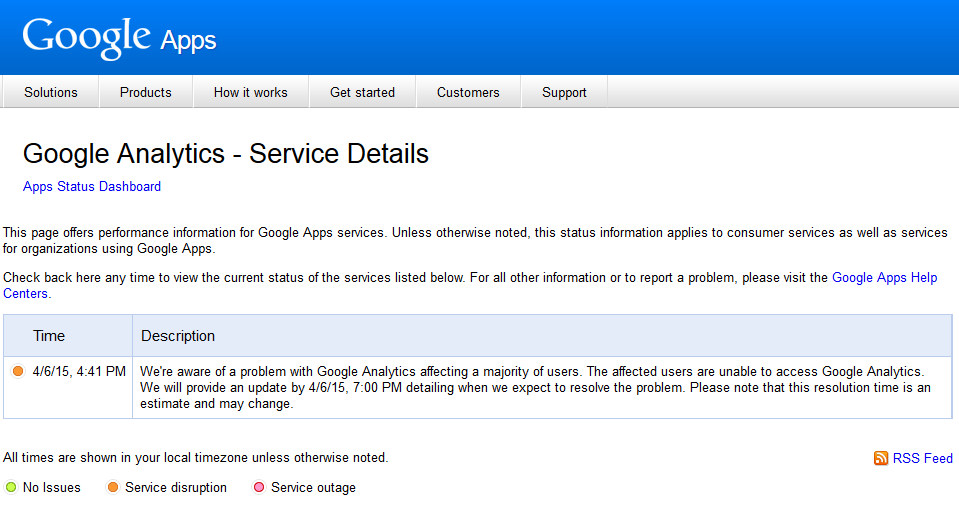 google analytics down 2
