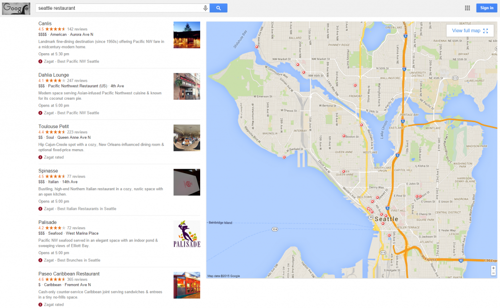 google local pack photos expanded