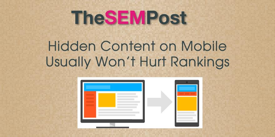 mobile hidden content