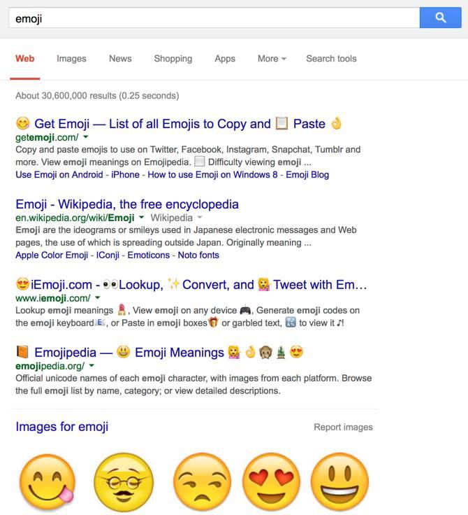 safari emoji