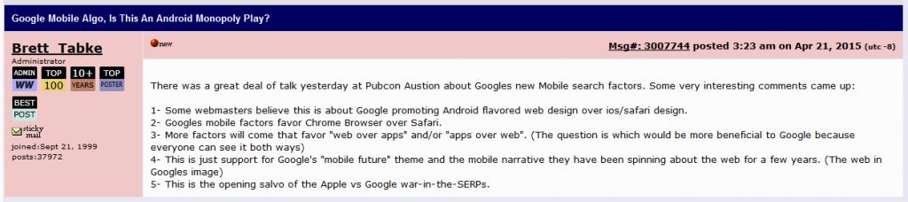 webmasterworld mobile post