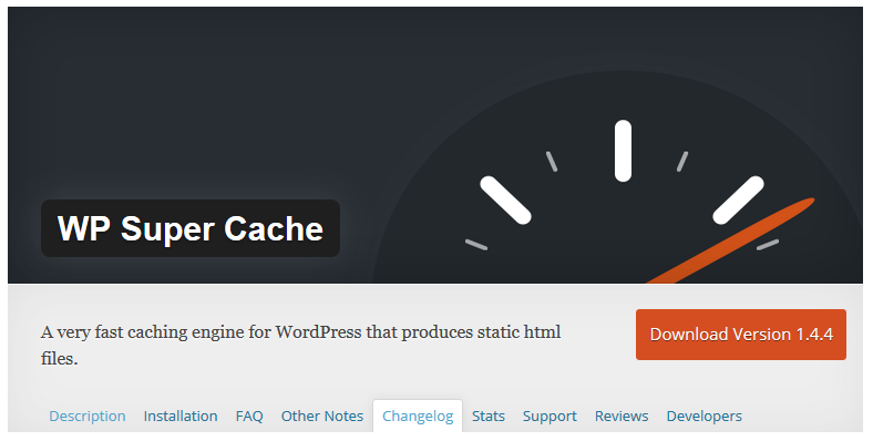 Image result for WP Super Cache.