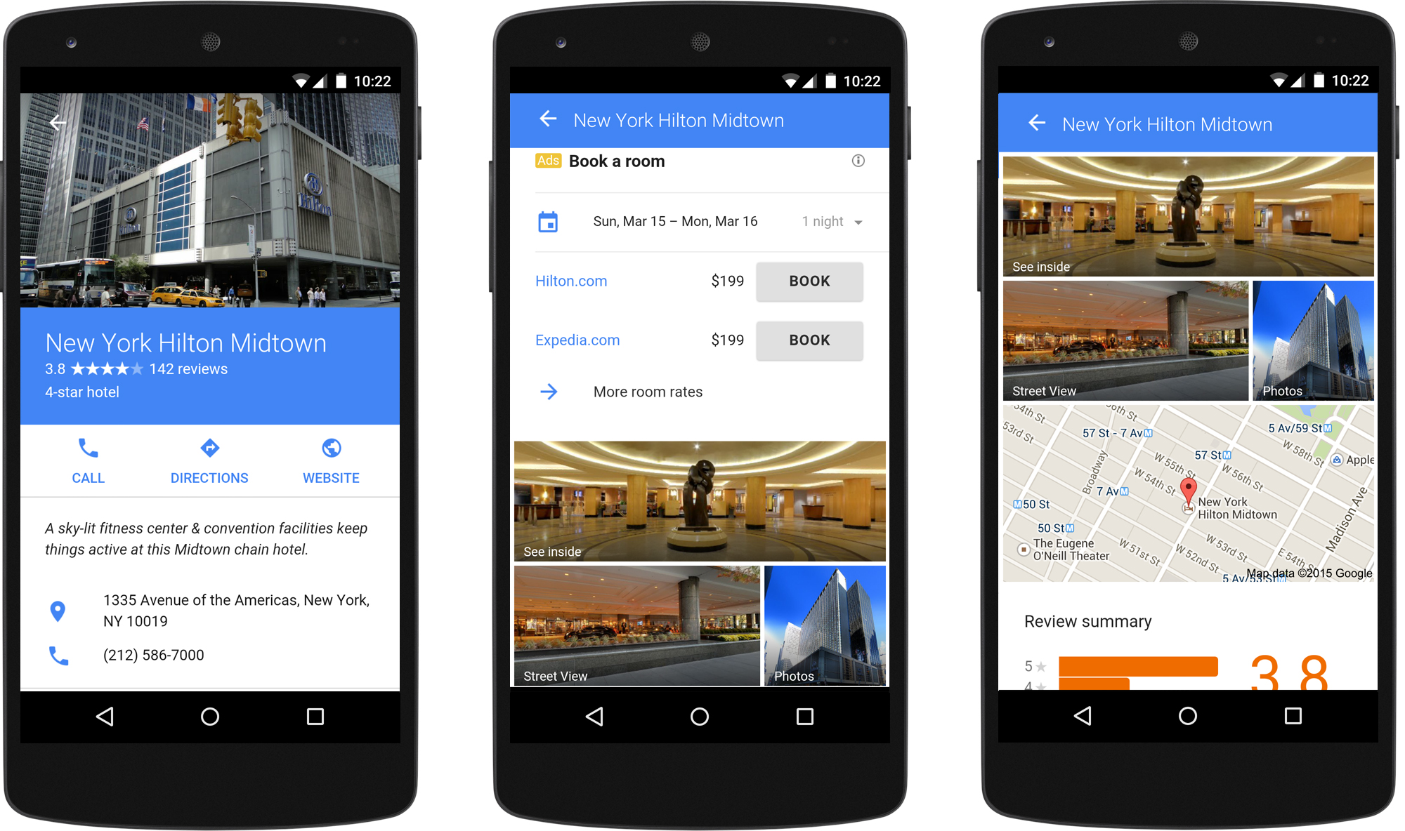 Google AdWords Launching Mobile-Friendly Hotel & Auto Ads