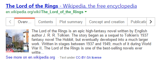 bing wikipedia answer box 5