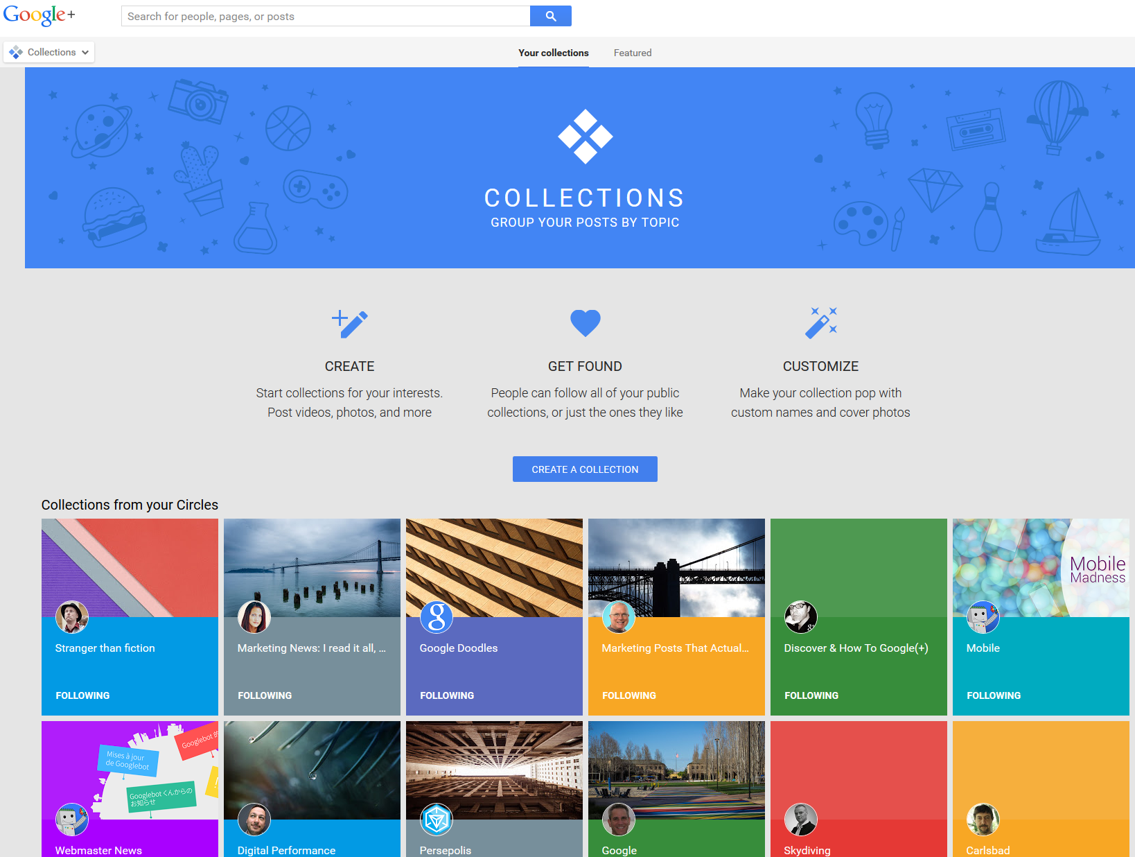Google Launches Collections, Their Version of Pinterest
