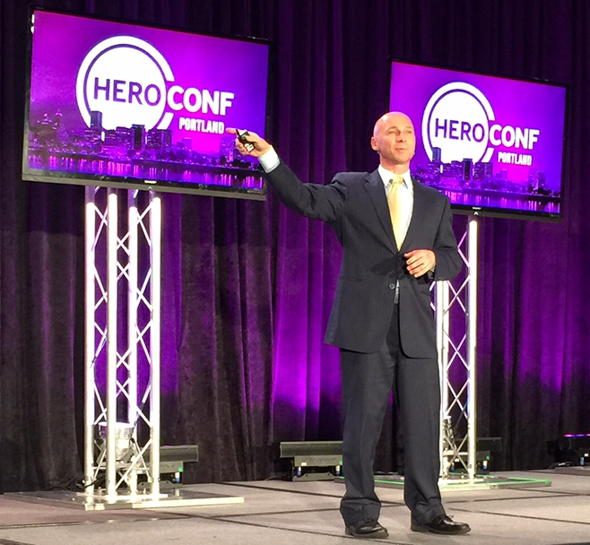 Keynote: Biasing Your Offer with Irrational Neuromarketing by Tim Ash at HeroConf