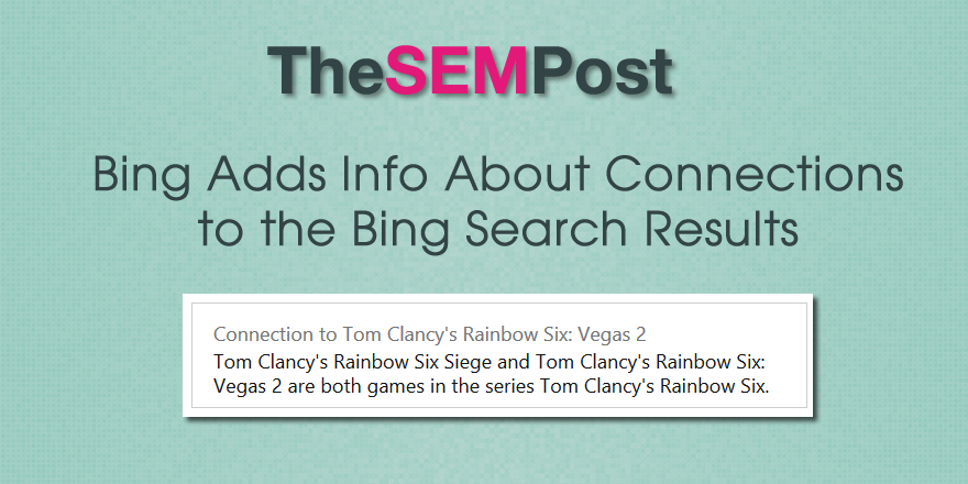 bing connections