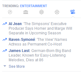 Facebook's Trending News Tabs Bad for Marketers