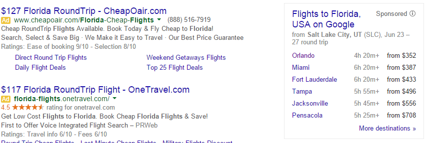google flight search sidebar 6