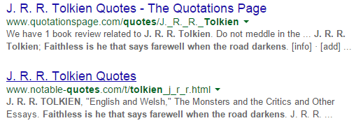 google quotes search results 2
