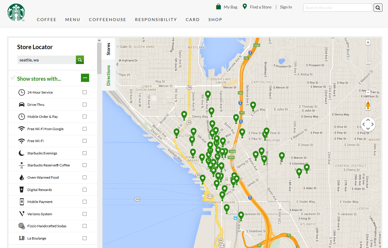 starbucks locator