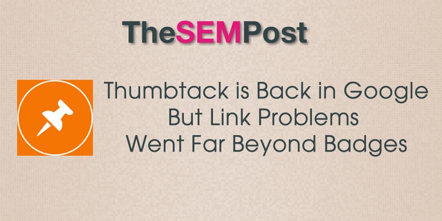 thumbtack back google