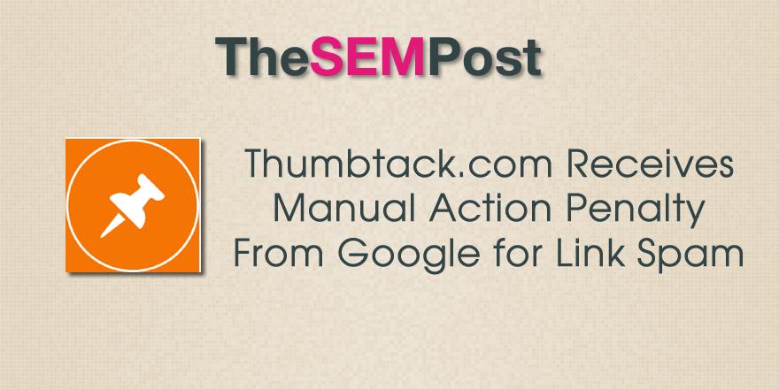 thumbtack penalty