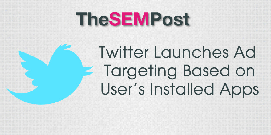 twitter installed apps