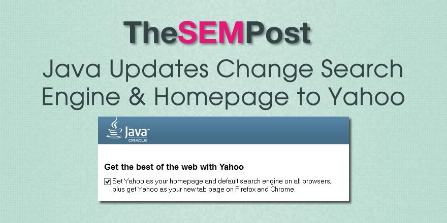 yahoo java update header