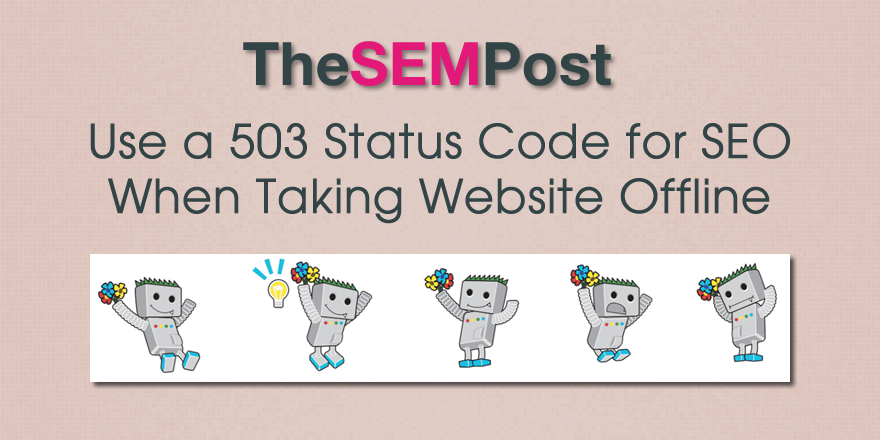 503 offline website