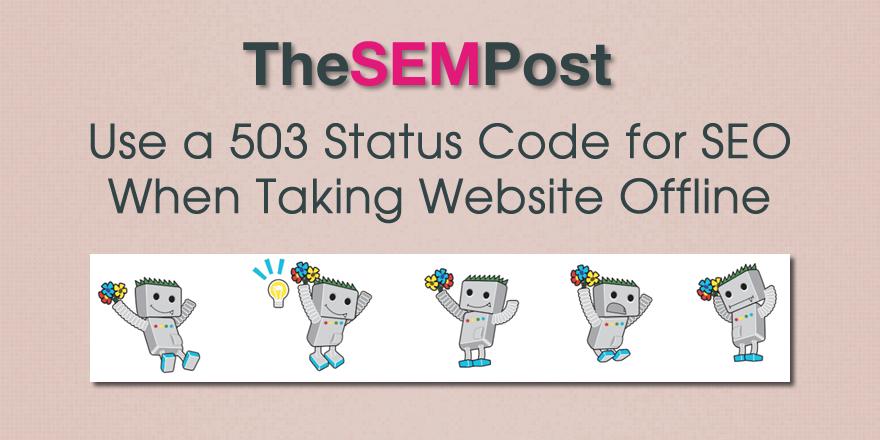 503 offline website