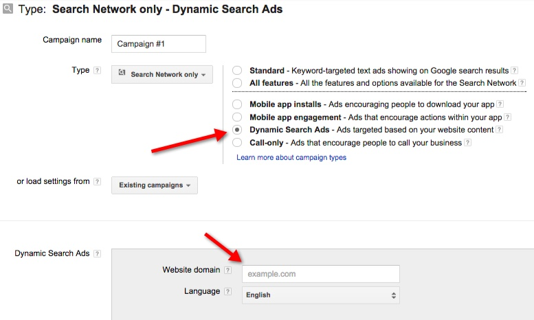 Google AdWords Upgrades Dynamic Search Ads