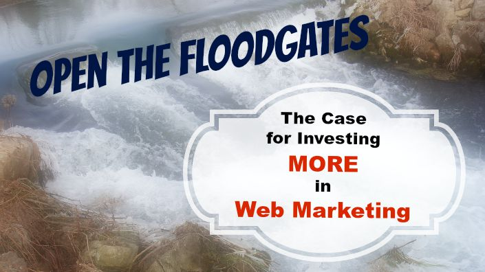 Open the Floodgates: The Case for Investing MORE in Web Marketing