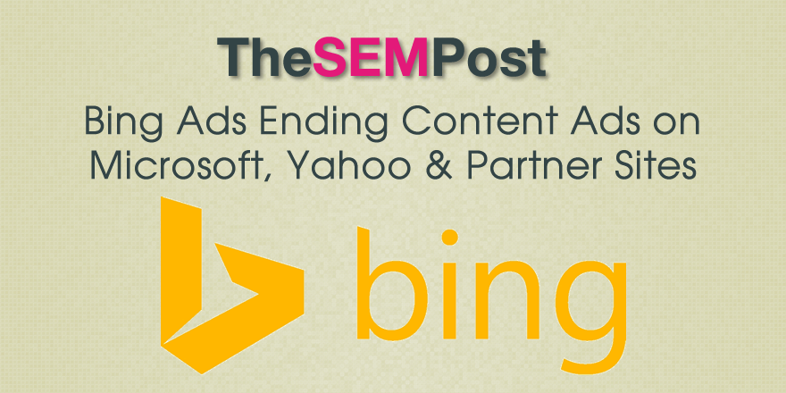 bing ads content