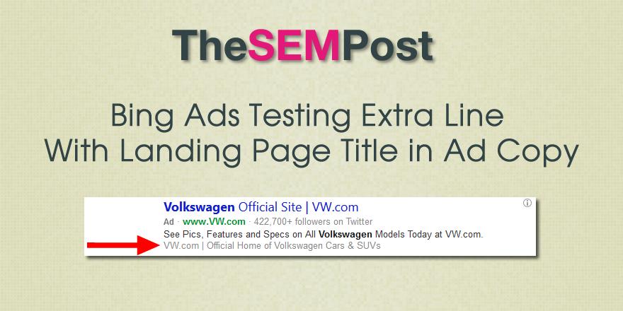 bing ads homepage title