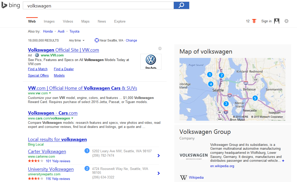 bing search ads with image 2