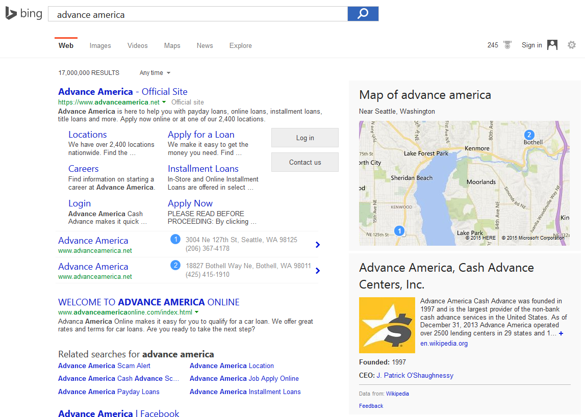 bing see results for brands 1b