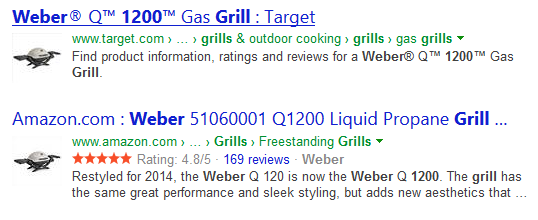 bing showing product thumbnails serps 6