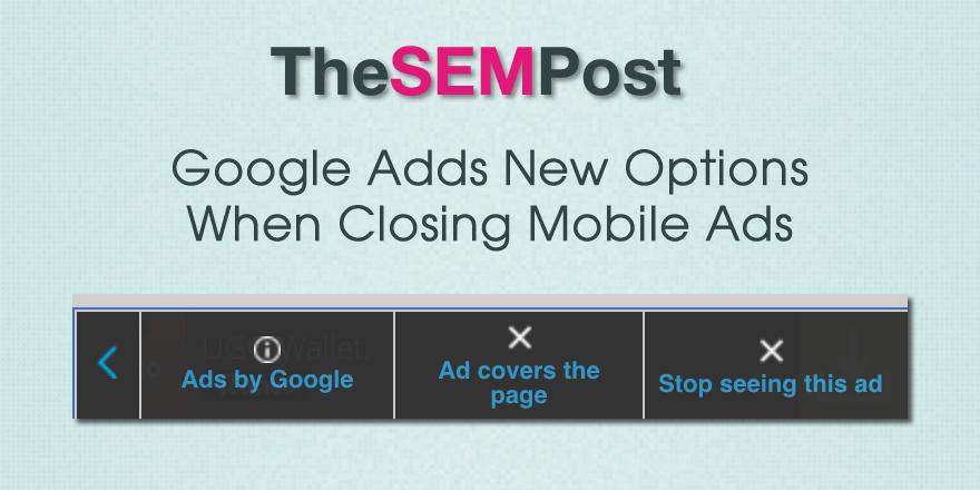 google mobile close