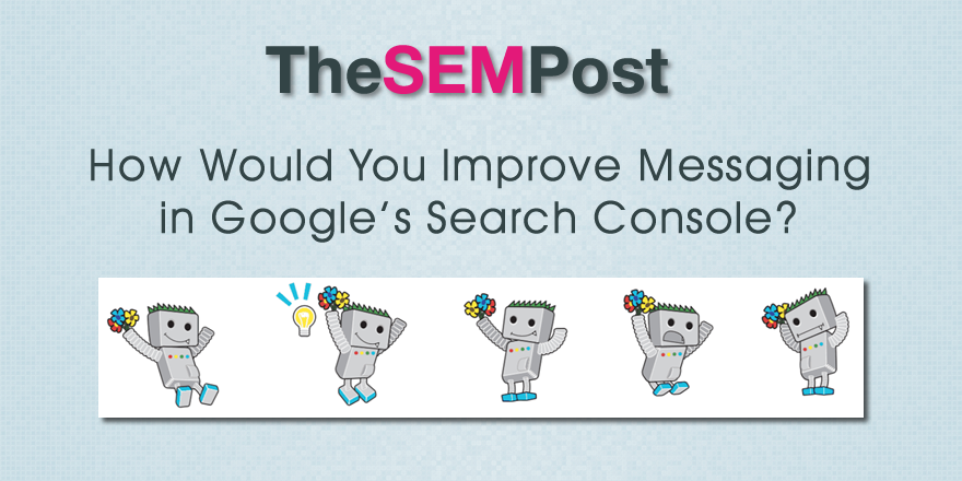 google search console message feedback