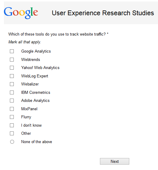 Sign Up for Google's User Experience Research Studies