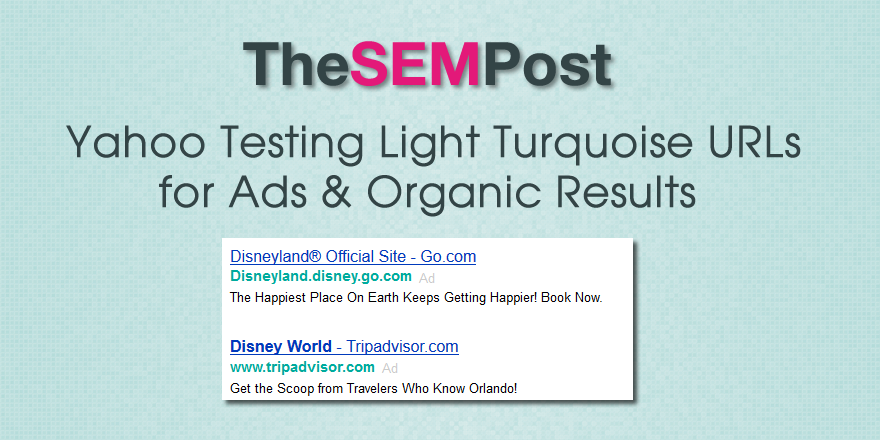 yahoo light turquoise links header