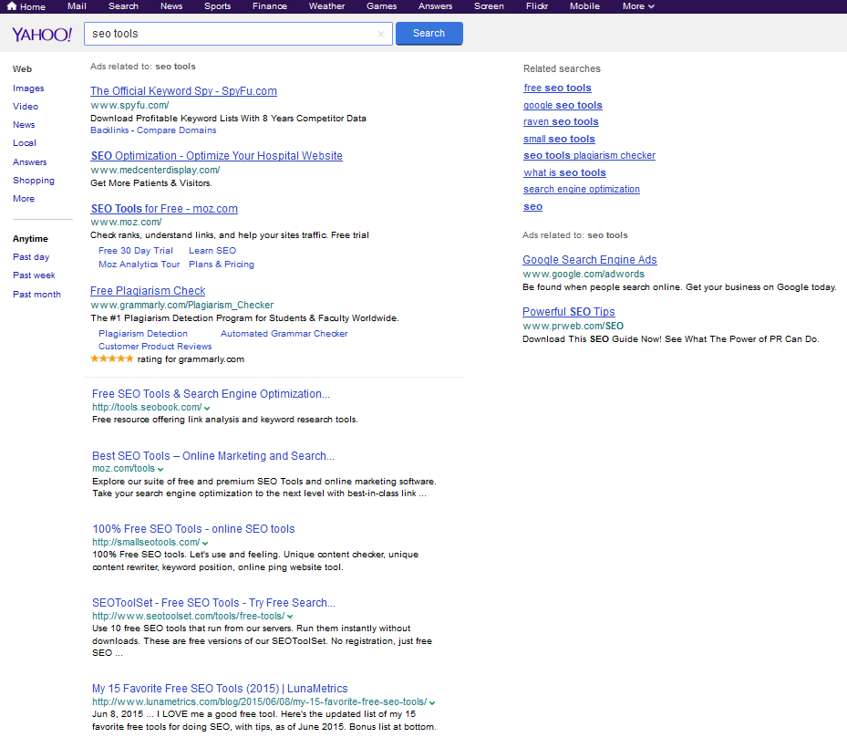 What Yahoo Testing Google Search Results Over Bing's Really Means