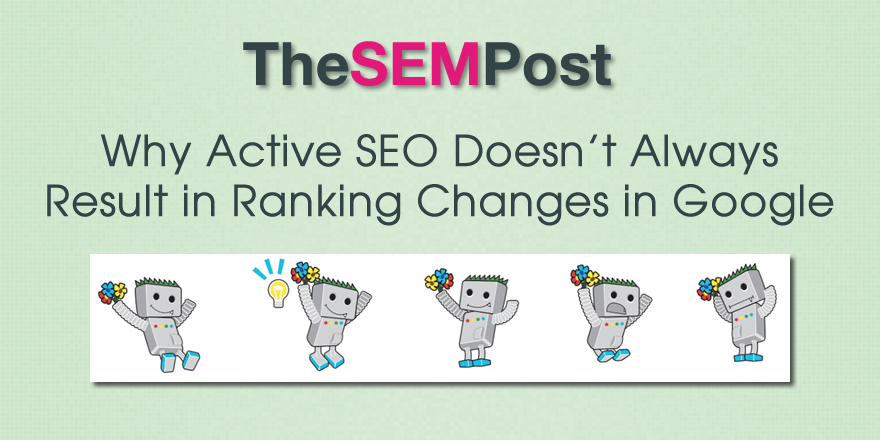 active seo changes