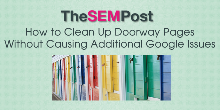 cleanup doorway pages