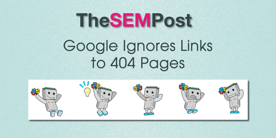 google 404 links