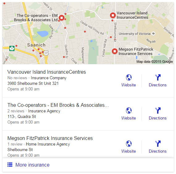 google local insurance new