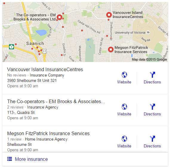 google local insurance new