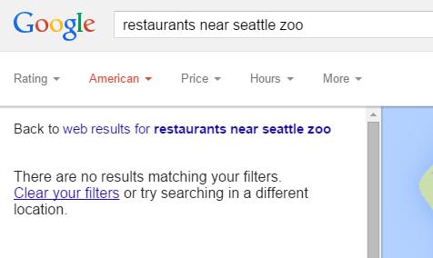 google local restaurant ratings 2