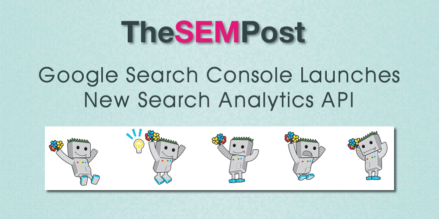 google search analytics api