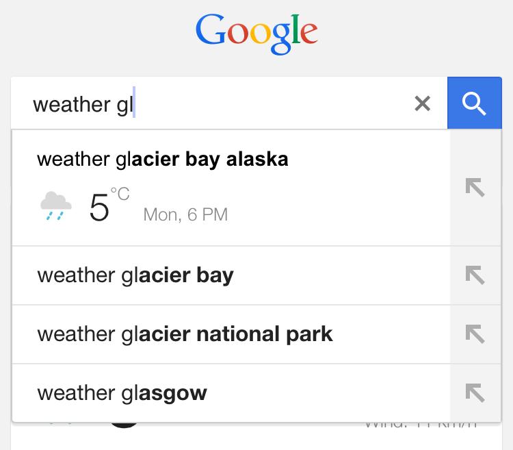 google weather 2