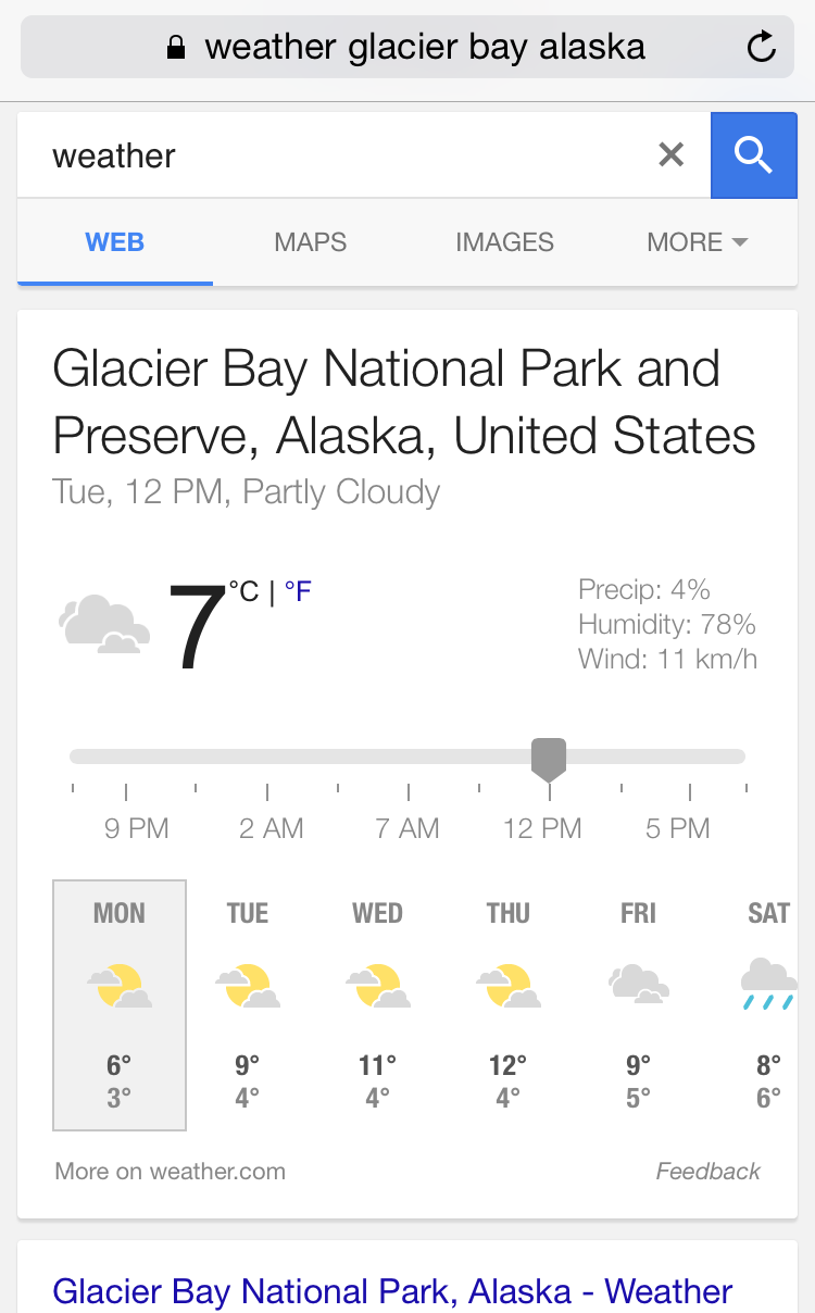 google weather 3