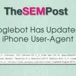 googlebot iphone useragent