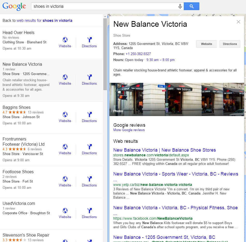 Google Image Result For Http Www Sourcecollection Com: Google Adds Search Results To Local Knowledge Panel