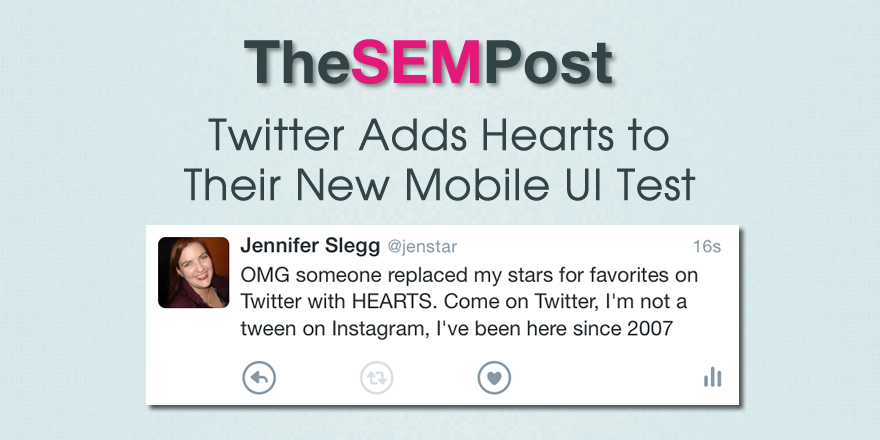 twitter hearts ui test
