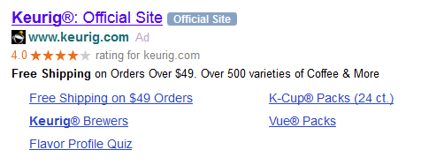 "Yahoo Adds ""Official Site"" Tags to Search Ads"