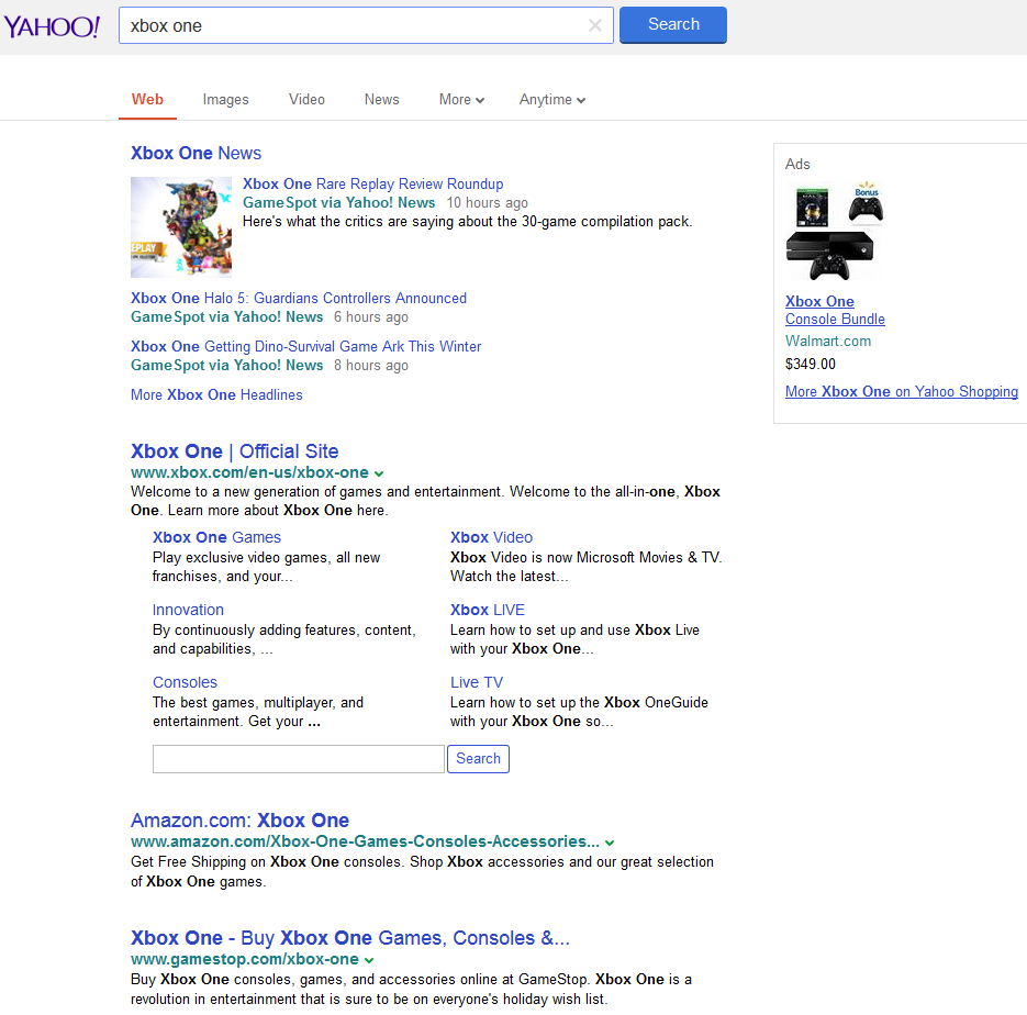 yahoo testing google interface2