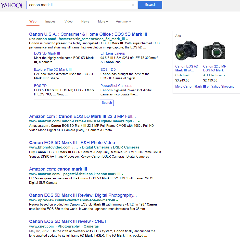 yahoo testing google interface3