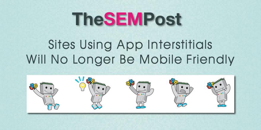 app interstitials mobile friendly