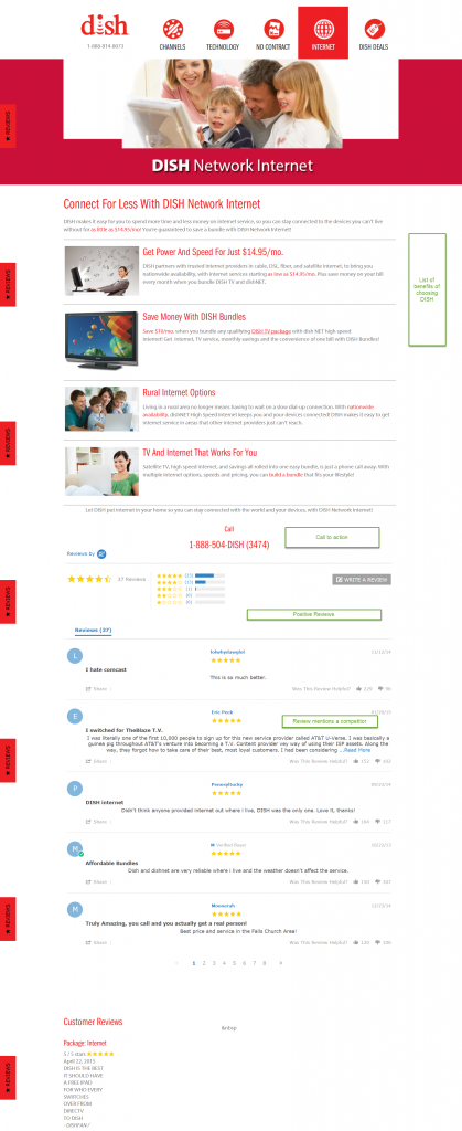 ppc landing page reviews